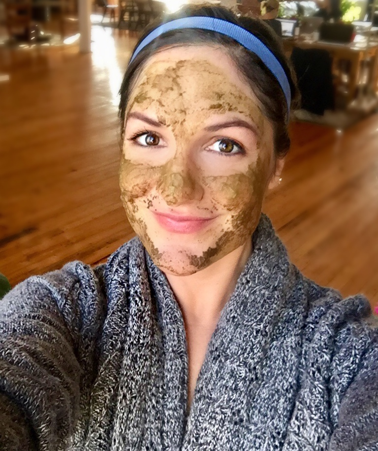 Alicia Zitka trying Avocado Mask